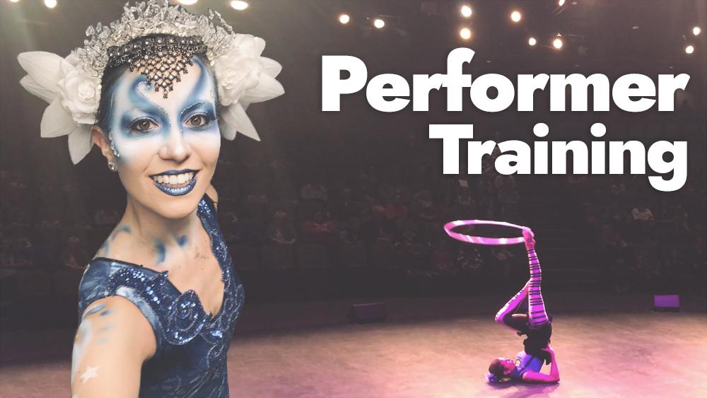 Hoop Dance Performer Training